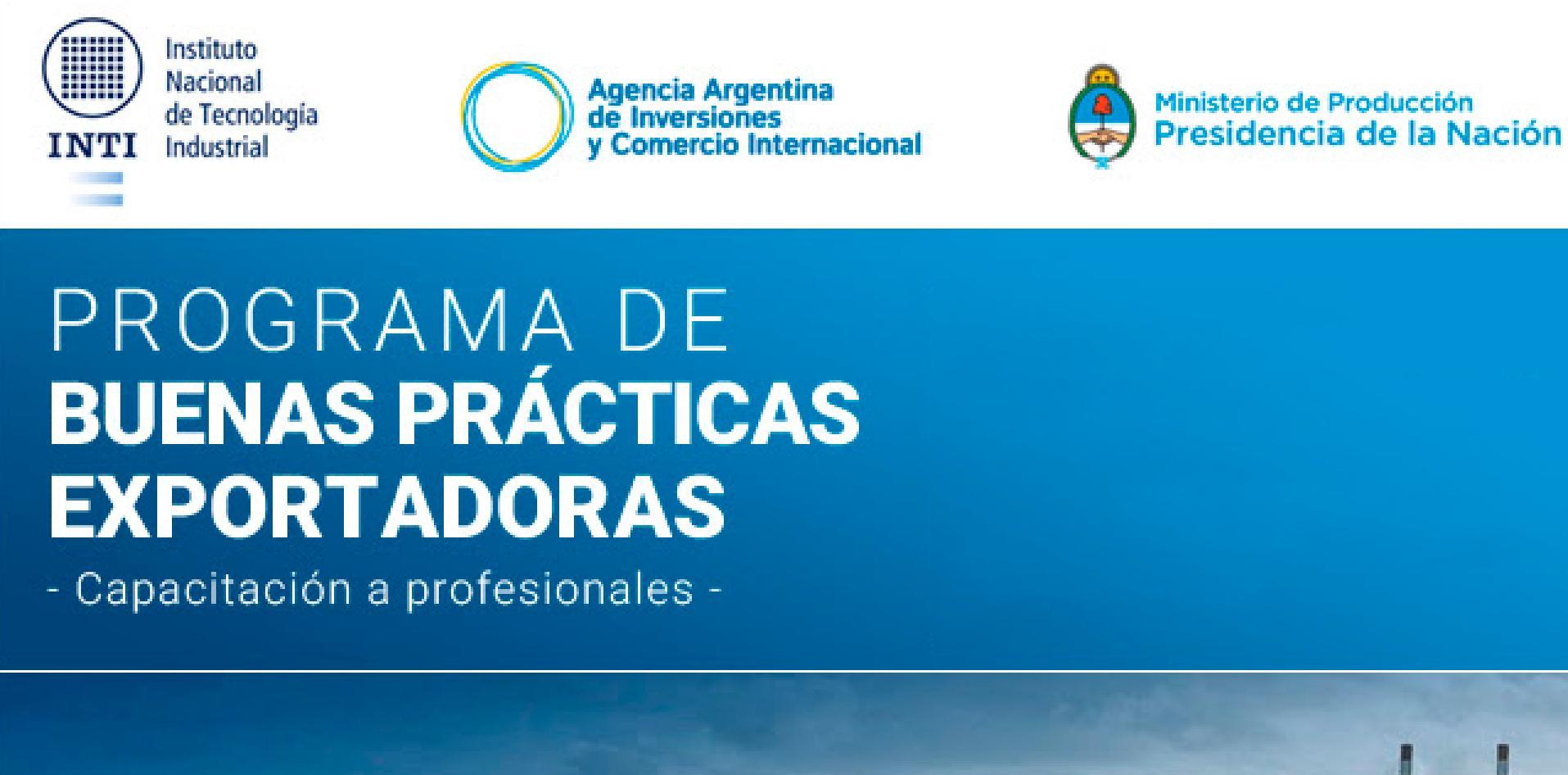 Banner de Buenas prácticas exportadoras